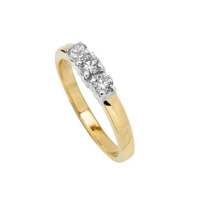 9ct Heart Diamond Signet Ring