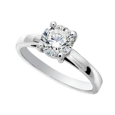 18ct 0.50ct White Gold Diamond