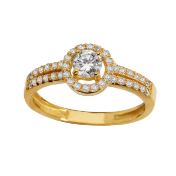 9ct Cluster Dress ring