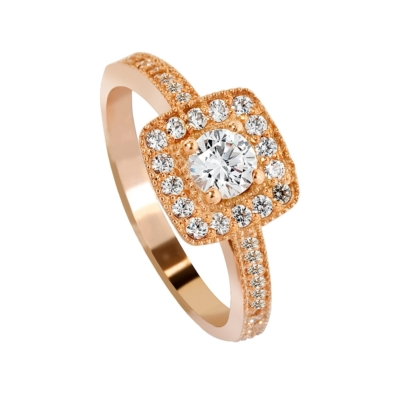 9ct Rose Gold Dress Rings Micro sq