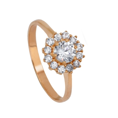 9ct Rose Gold Dress Ring