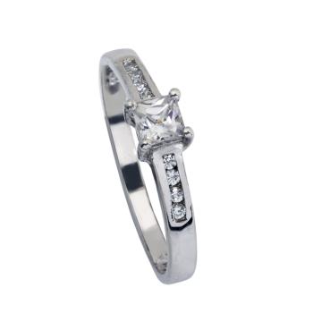 L997CZ White Gold Ladies Ring