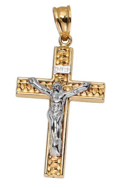 9ct Large Crucifix Cross