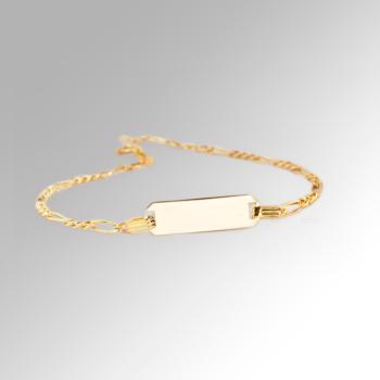 9ct Baby Id Bracelet