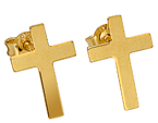 9ct Cross Stud