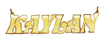 Nameplate Kaylan Style