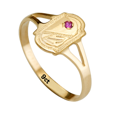 9ct Baby Signet Ring