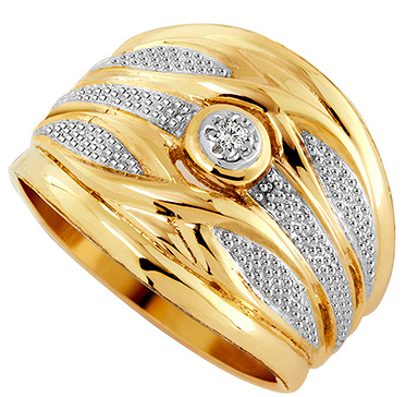 Tripset 9ct Gold and Diamond