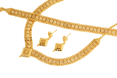 9ct Gold Bridal Set
