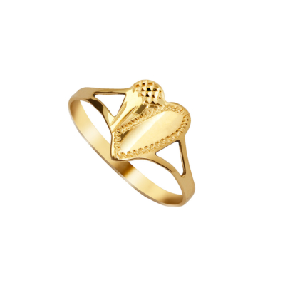 9ct Gold Heart Shape Ring