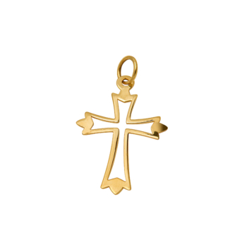 9ct Medium Arrow Cross