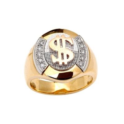 9Ct Cz Dollar TopClass Ring