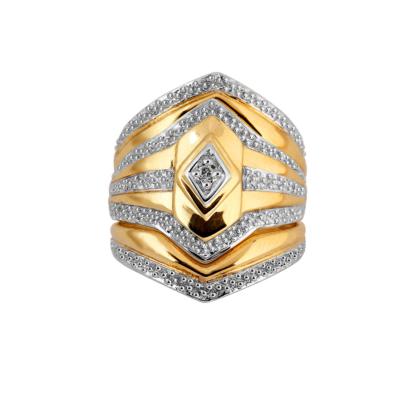 9ct Diamond Shape Tripset