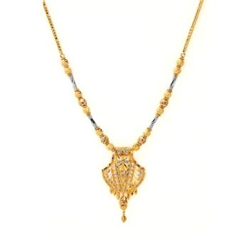 9CT Gold Mungal Sutra With Filigri Pendant