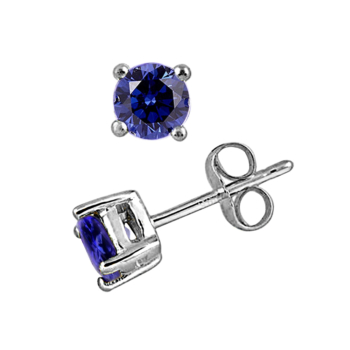 9ct White Gold Tanzanite 0.50ct