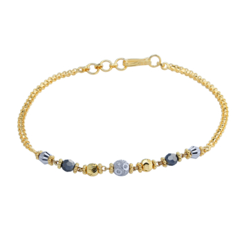 9ct Ladies Mungal Sutra Bracelet