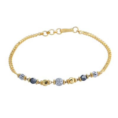 9ct Ladies Mungal Sutra Bracelet