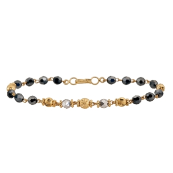 9ct Gold Mungalsutra Bracelet