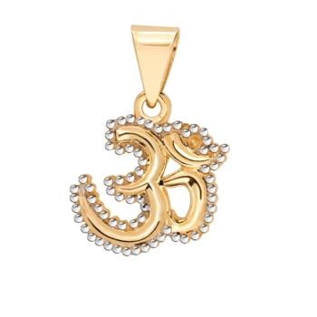 9ct Gold Aum Sign Pendant