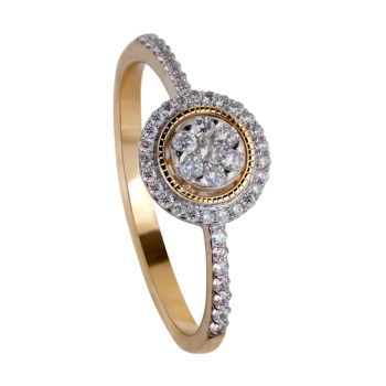 9ct Yellow Gold Solitaire 0.24ct