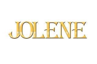 9ct 8mm Jolene Nameplate 7 Letters