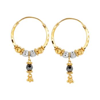 9ct Waris Drop Earring (E589dropbb)